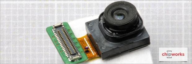 Modul kamera depan Galaxy S7 Edge - chipworks.com