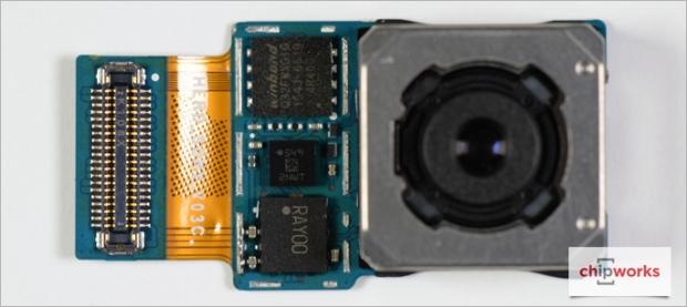 Chipworks S7 Edge Camera Module