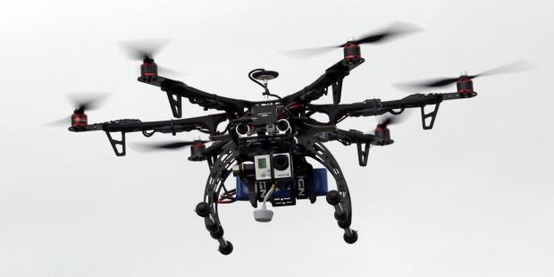 Ilustrasi Drone - sumber foto: AP Photo/Rick Bowmer