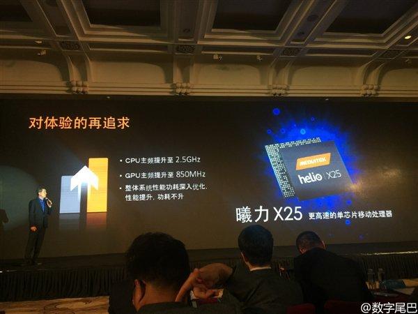 Peluncuran Mediatek Helio X25 - via gizchina.com