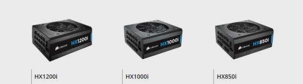 Corsair HXi series