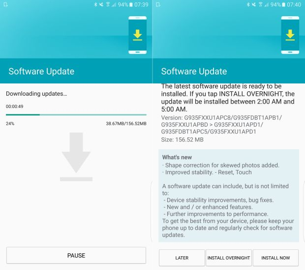 Update terbaru S7 dan S7 Edge - sammobile.com