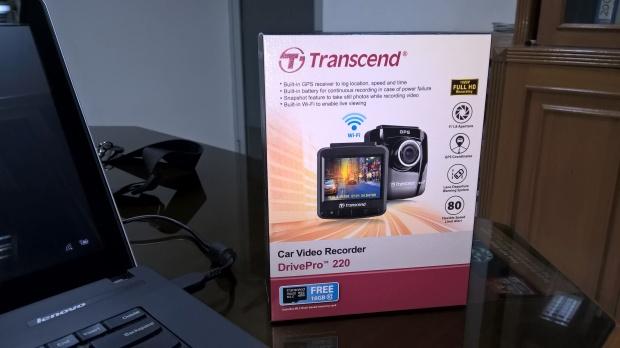 Box Transcend DrivePro 220