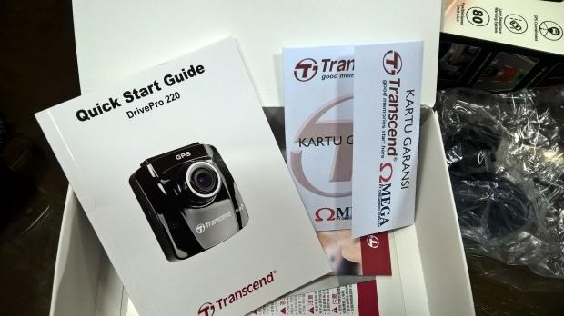 Buku manual dan kartu garansi distributor resmi
