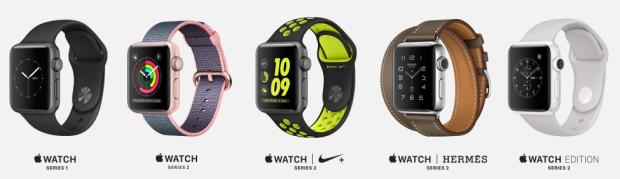Pilihan varian Apple Watch