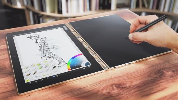 Panel sentuh yang dapat berubah fungsi untuk menggambar