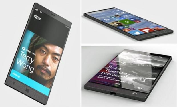 Konsep atau render Surface Phone?