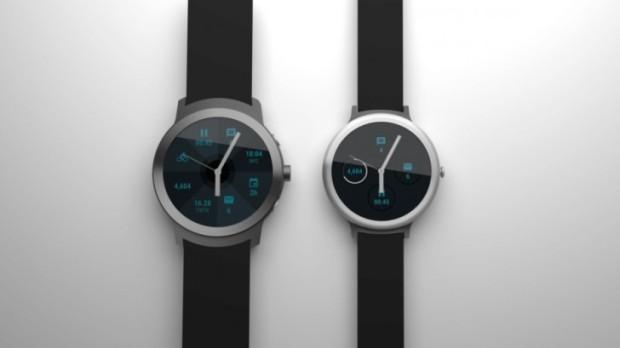 Hasil render LG Watch Sport dan Watch Style